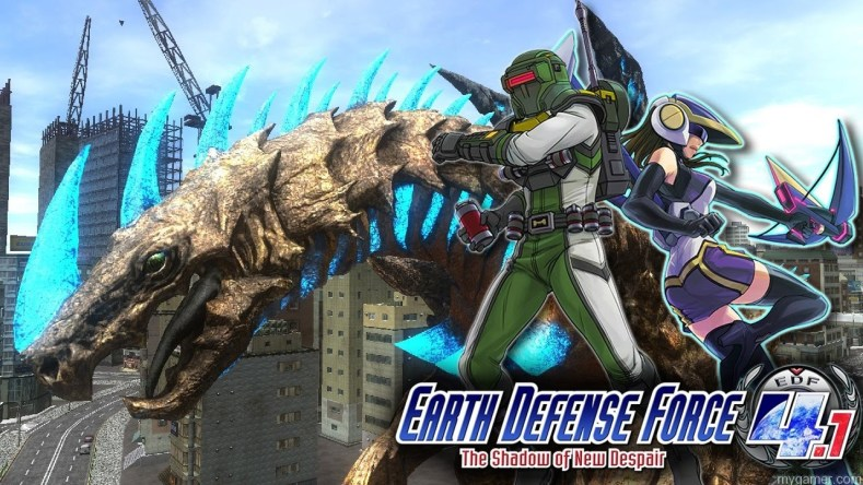 Earth Defense Force 4.1 The Shadow of New Despair Stream MyGamer Visual Cast – Earth Defense Force 4.1 The Shadow of New Despair Earth Def Force 41