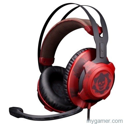 HyperX Now Shipping Gears of War 4 Bloody Headset HyperX Now Shipping Their Bloody Gears of War 4 Headset GOW