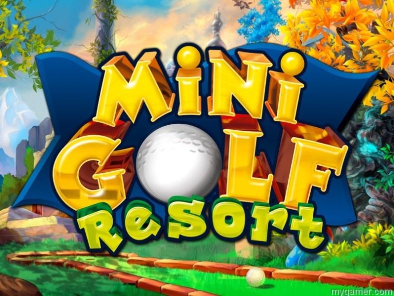 Mini Golf Resort 3DS banner