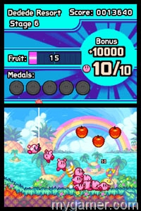 Kirby Mass Attack DS (Wii U Virtual Console) Review Kirby Mass Attack DS (Wii U Virtual Console) Review Kirby Mass Attack scre1