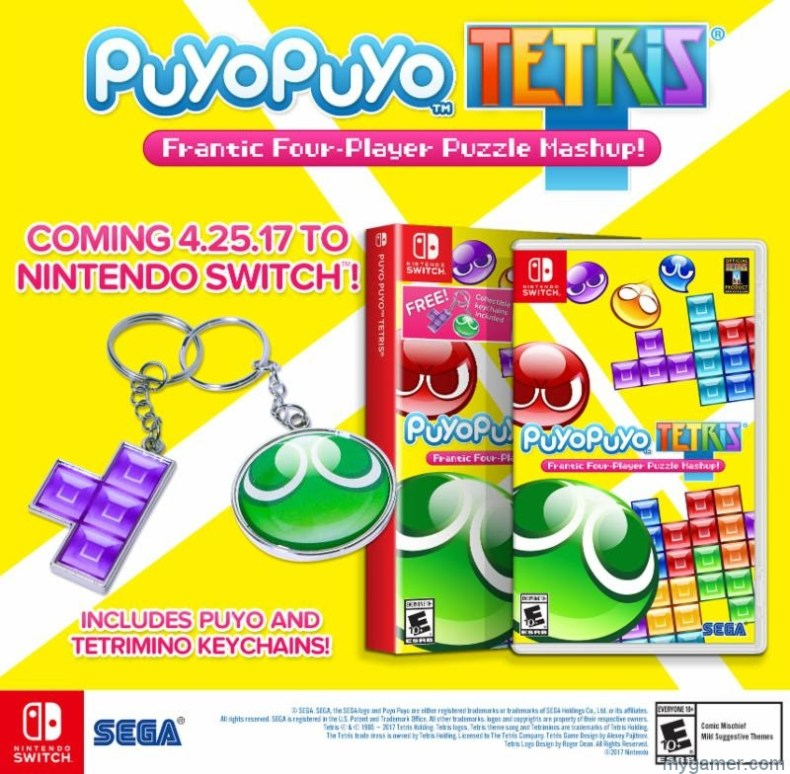 Puyo Puyo Tetris Arriving in Late April on PS4 and Switch Puyo Puyo Tetris Arriving in Late April on PS4 and Switch Puyo Puyo Tetris banner