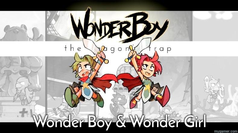 Wonderboy Wonder Girl Dragons Trap