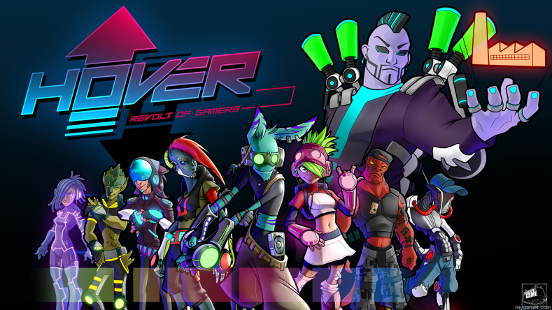 Did You See the Trailer for Hover: Revolt of Gamers? It is Sorta Like a New Jet Set Radio. Did You See the Trailer for Hover: Revolt of Gamers? It is Sorta Like a New Jet Set Radio. Hover Revolt of Gamers banner