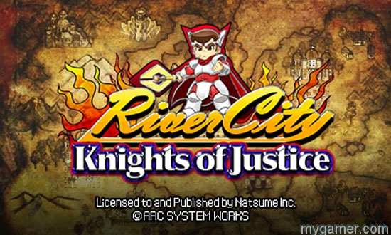 [object object] River City: Knights of Justice Out Now on 3DS eShop RCKOJ SShot1