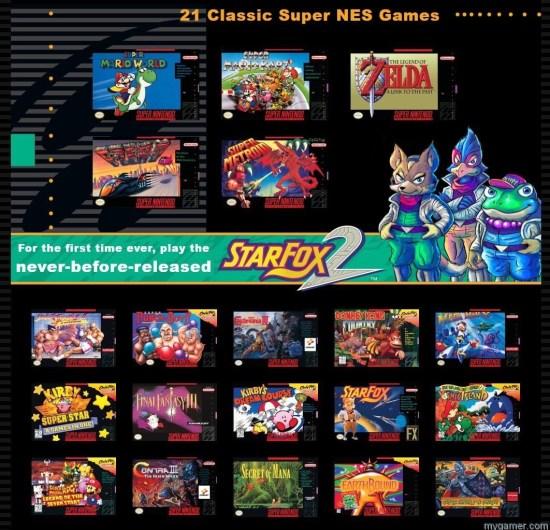 SNES Mini games
