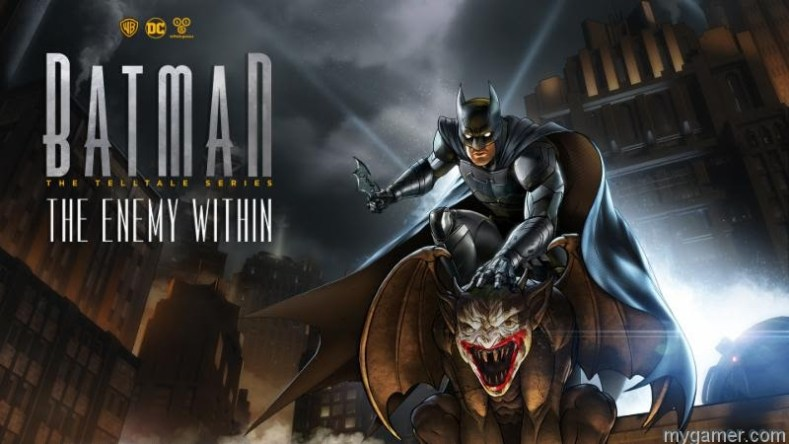 [object object] Telltale Set to Release Batman Season 2 Batman Enemy Within Season2 banner