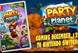 mastiff bringing party planet to switch in december 2017 Mastiff Bringing Party Planet to Switch in December 2017 with Gamestop Exclusive Bonus Party Planet banner