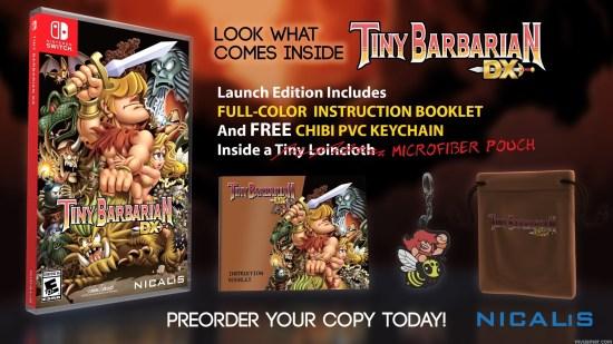 Tiny Barbarian DX box special