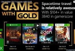 Xbox Free Games Dec 2017