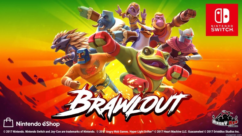 smash bros clone brawlout out now for switch and pc Smash Bros Clone Brawlout Out Now for Switch and PC Brawlout Switch banner