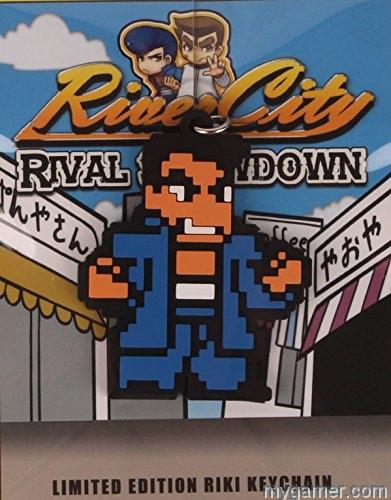 River City Rival showdown keychain