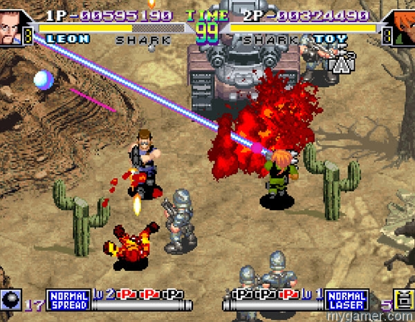 hamster releases 2 more neogeo games Hamster Releases 2 More NEOGEO Games Shock Troopers 2nd squard