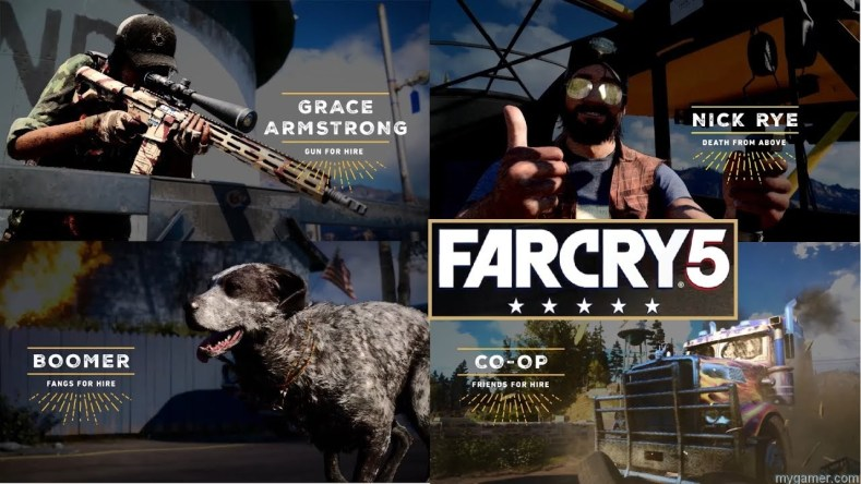 New Far Cry 5 Gun For Hire Compilation
