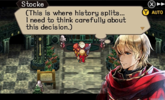 radiant historia: perfect chronology 3ds review Radiant Historia: Perfect Chronology 3DS Review Radiant Historia 2 paths
