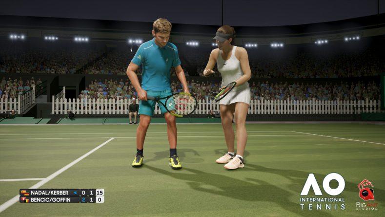 AO Internatinal Tennis