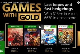 free xbox games for june 2018 announced - the most expensive game yet included Free Xbox games for June 2018 announced – the most expensive game yet included Games with Gold Xbox June 2018
