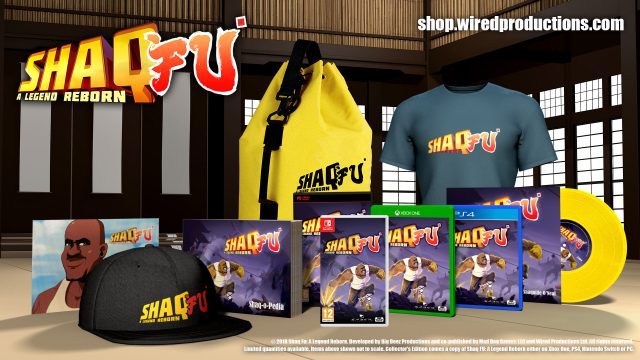 shaq fu: a legend reborn getting very, very limited ce Shaq Fu: A Legend Reborn getting very, very limited CE Shaq CE Preorder