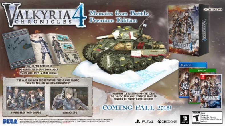 valkyria chronicles 4 gets new trailer and special edition Valkyria Chronicles 4 gets new trailer and special edition Valkyria Chronicles 4 prem edi