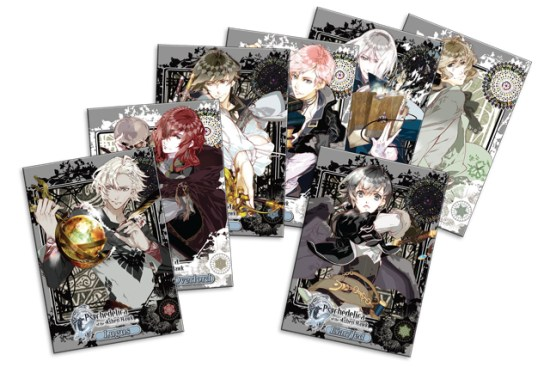 psychedelica of the ashen hawk has cards and pins physical bonuses Psychedelica of the Ashen Hawk has cards and pins physical bonuses Psychedelica of the Ashen Hawk cards copy