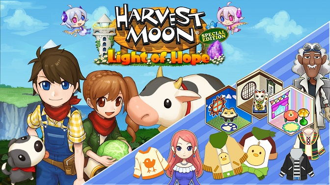 harvest moon: light of hope special edition has new dlc Harvest Moon: Light of Hope Special Edition has new DLC Harvest Moon Light of Hope DLC