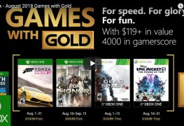 free xbox games with gold august 2018 Free Xbox Games with Gold August 2018 Xbox Games with Gold Aug 2018