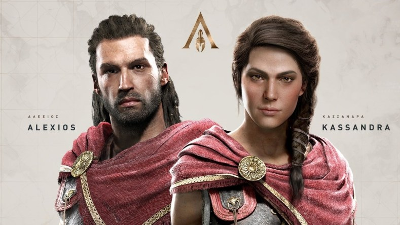 new assassin's creed odyssey trailers New Assassin's Creed Odyssey Trailers assassins creed origins protags 1116808