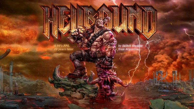 hellbound looks like a new doom or quake - trailer here Hellbound looks like a new Doom or Quake – trailer here Hellbound