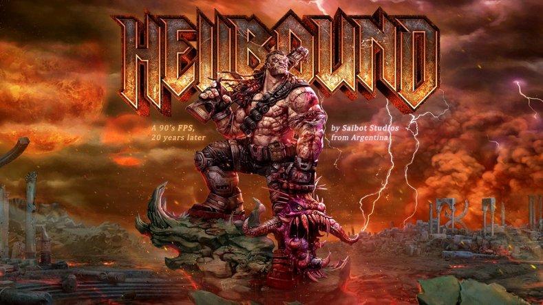 hellbound looks like a new doom or quake - trailer here Hellbound looks like a new Doom or Quake – trailer here Hellbound