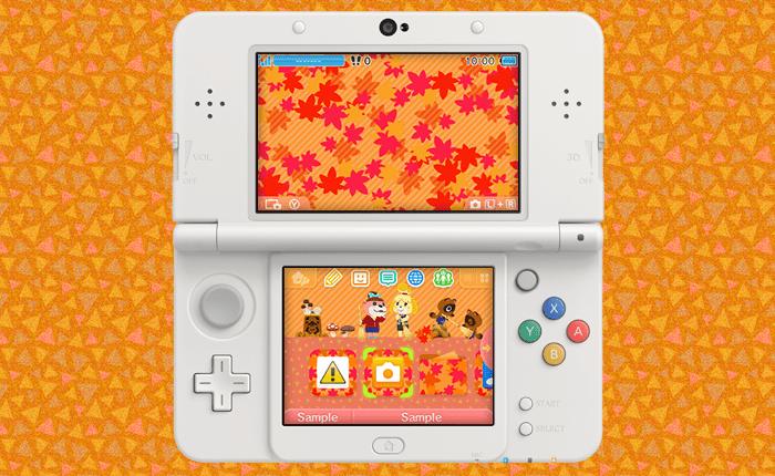 3ds theme - animal crossing falling leaves via mynintendo 3DS Theme – Animal Crossing Falling Leaves via MyNintendo animal crossing 3ds theme autumn banner