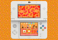 3ds theme - animal crossing falling leaves via mynintendo 3DS Theme – Animal Crossing Falling Leaves via MyNintendo animal crossing 3ds theme autumn banner