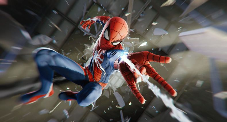 spider man ps4 preview glass