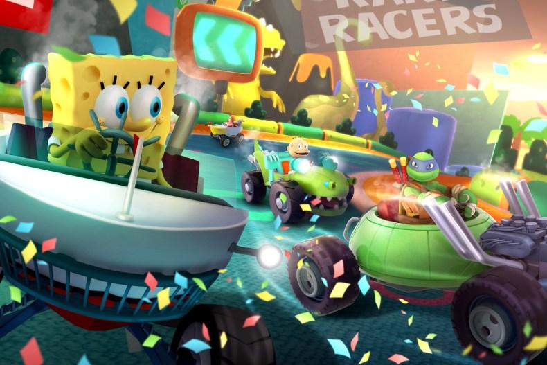 Nickelodeon Kart Racers 1