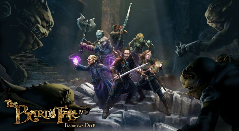 the bard's tale iv: barrows deep (pc) review The Bard's Tale IV: Barrows Deep (PC) review and stream The Bard   s Tale IV Barrows Deep