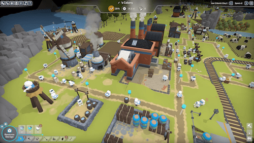 the colonists sort of looks like simcity and anno but with cute robots The Colonists sort of looks like SimCity and Anno but with cute robots the colonists screenshot 9