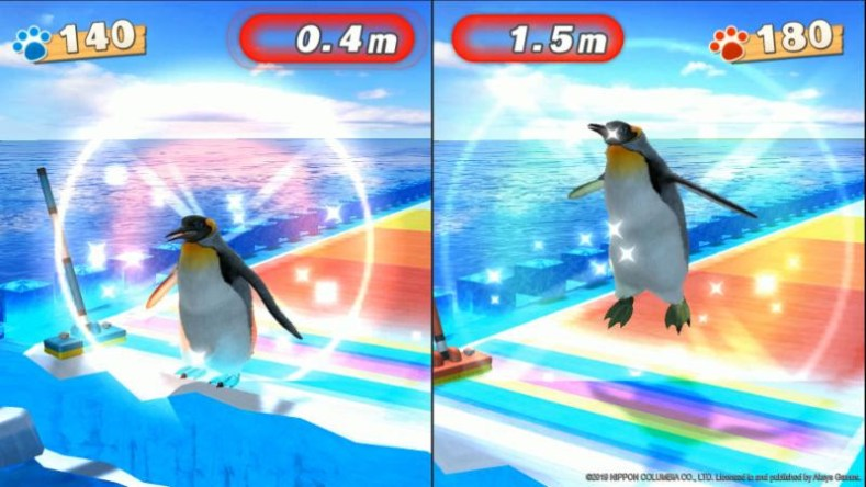 fun! fun! animal park let's you curl with penguins FUN! FUN! Animal Park let's you curl with penguins Fun Fun Animal Park