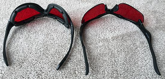 safety blue sleep savior glasses (accessory) review Safety Blue Sleep Savior Glasses (Accessory) Review Safety Blue Sleep Savior Glasses upside d