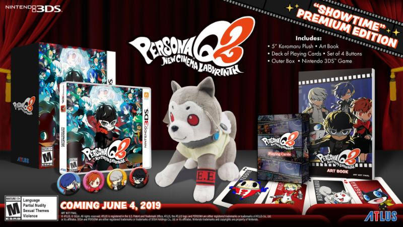 persona q2: new cinema labyrinth will feature cast from persona 3, persona 3 portable, and persona 4 Persona Q2: New Cinema Labyrinth will feature cast from Persona 3, Persona 3 Portable, and Persona 4 Persona Q2 bundle