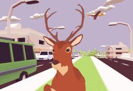 deeeer simulator: your average everyday deer game first trailer here DEEEER Simulator: Your Average Everyday Deer Game first trailer here Deeeer Simulator Gaming Cypher