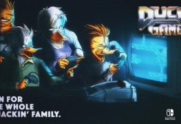 Duck Game (Switch) Review Duck Game banner