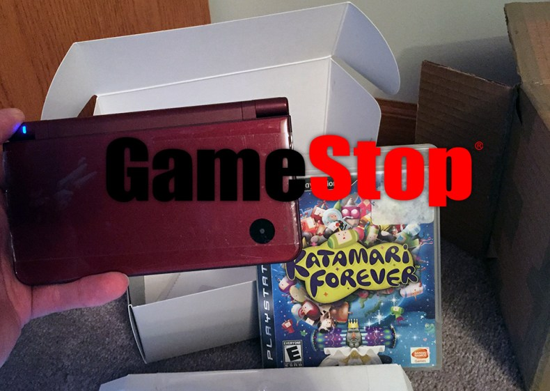 i ordered a used dsi and ps3 game from gamestop. this is what i got. I ordered a used DSi and PS3 game from Gamestop. This is what I got. Gamestop Order May 2019
