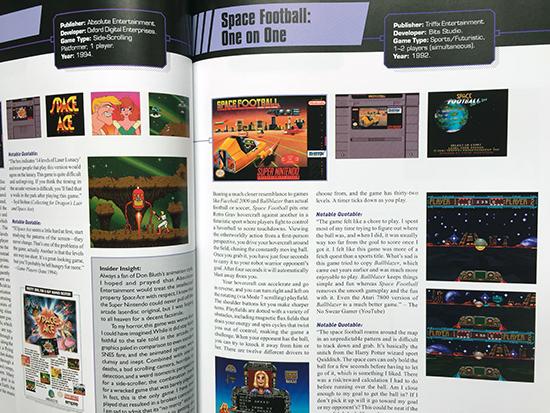 snes omnibus vol. 2 (book) review SNES Omnibus Vol. 2 (Book) Review SNES Omnibus Vol2 Space Football