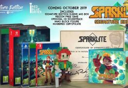 retro-inspired action adventure sparklite getting physical version Retro-inspired action adventure Sparklite getting physical version Sparklite