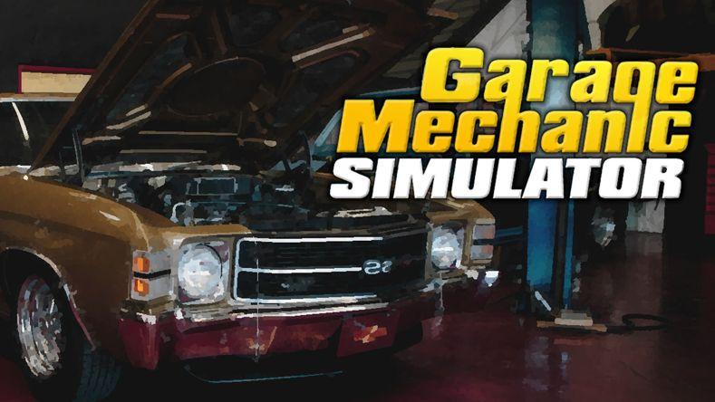 Garage Mechanic Simulator 01 press material