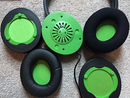 SnakeByte HeadSet X Pro Earcups2