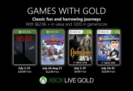 here are the free xbox games for july 2019 gold members Here are the free Xbox games for July 2019 Gold members Xbox Games with Gold July 2019