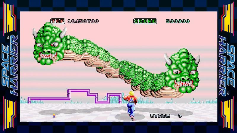 SEGA AGES Space Harrier (Switch) Review Space Harrier