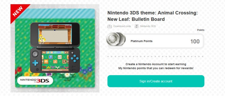 Nintendo 3DS theme: Animal Crossing: New Leaf: Bulletin Board walkthrough Animal Crossing NL Bulletin Board theme