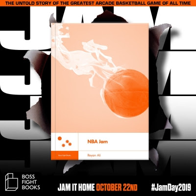 nba jam, a book from boss fight books, is now available digitally, physically soon NBA Jam, a book from Boss Fight Books, is now available digitally, physically soon Boss Fight Books NBA Jam