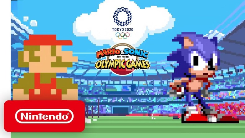 Mario Sonic at the Olympic Games Tokyo 2020