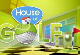 house of golf uses a house as the golf course House of Golf (Switch) uses a house as the golf course House of Golf
